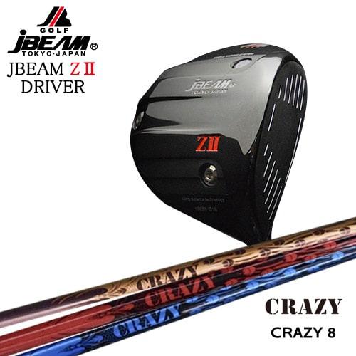 JBEAM_ZII_DRIVER/ジェイビーム/CRAZY_CRAZY8/CRAZY/クレイジー/OVDカスタムクラブ【05P26Mar16】