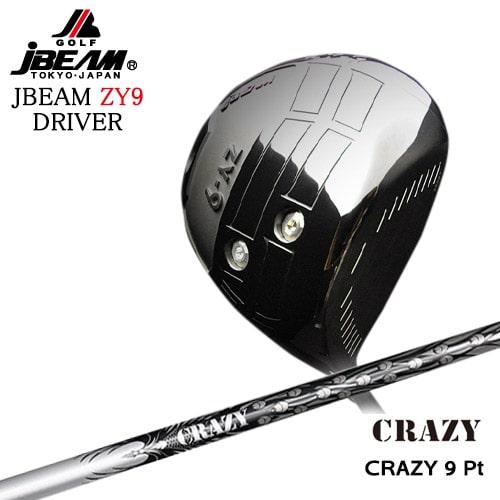JBEAM_ZY-9_DRIVER/ジェイビーム/2019モデル/CRAZY_9_Pt/CRAZY/クレイジー/OVDカスタムクラブ【05P26Mar16】
