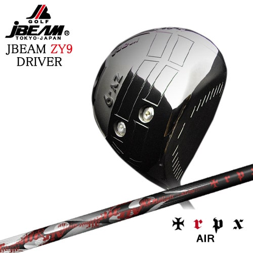 JBEAM_ZY-9_DRIVER/ジェイビーム/2019モデル/AIR/エアー/TRPX/トリプルエックス/OVDカスタムクラブ【05P26Mar16】