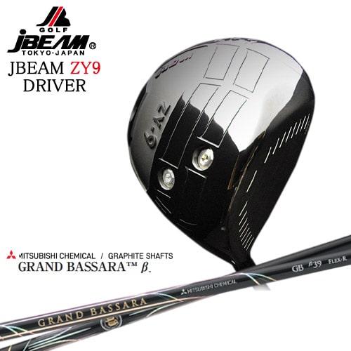 JBEAM_ZY-9_DRIVER/ジェイビーム/2019モデル/GRAND_BASSARA_β/グランド_バサラベータ/三菱ケミカル/George_Takei_Design/OVDカスタム【05P26Mar16】