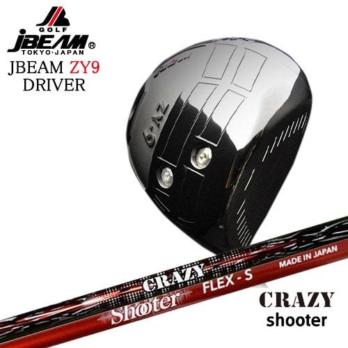 JBEAM_ZY-9_DRIVER/ジェイビーム/2019モデル/Shooter/シューター/CRAZY/OVDカスタムクラブ【05P26Mar16】