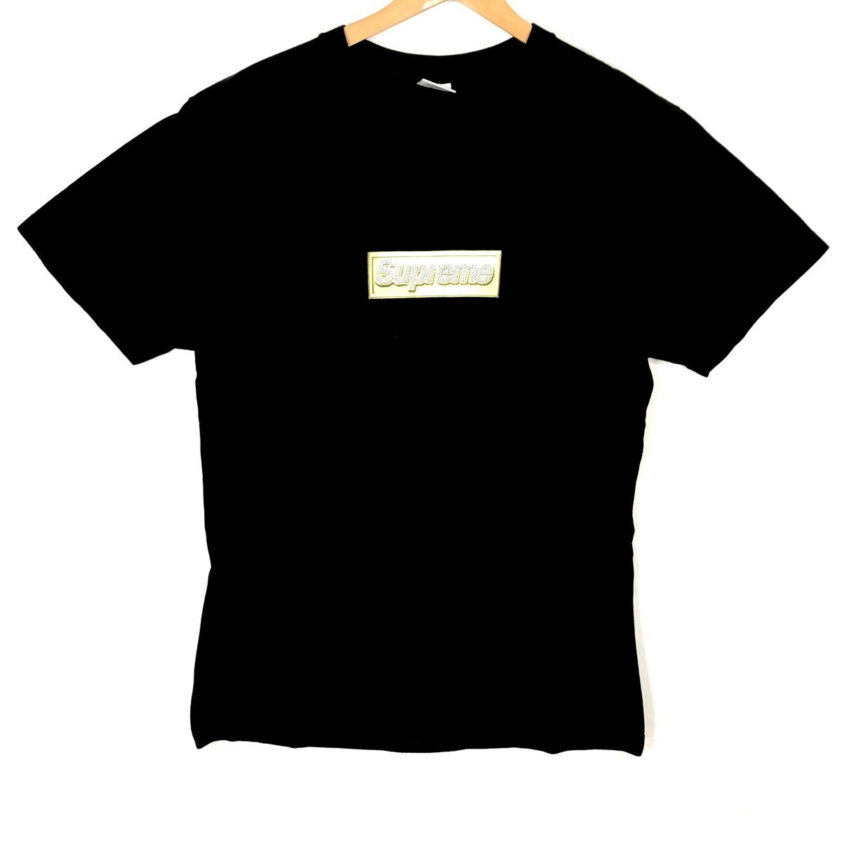 Supreme シュプリーム Bling Box Logo Tee ブリング ボックスロゴ Tシャツ M /13SS 黒 ブラック BLACK メンズ レディース【中古】