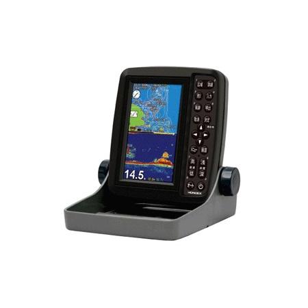 ホンデックス(HONDEX) 魚群探知機 PS-611CN〈5型ワイドカラー ポータブルGPS内蔵プロッター魚探〉遮光フード付き