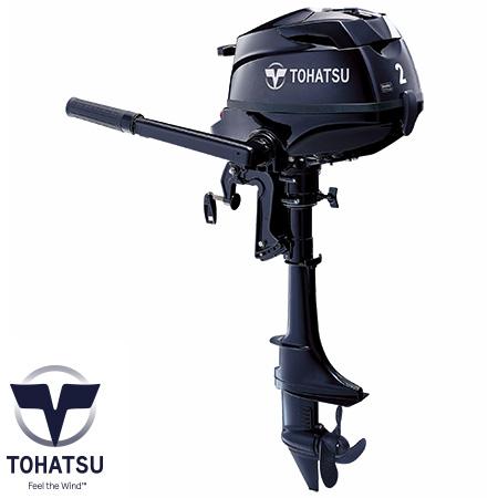 トーハツ(TOHATSU) 2馬力船外機(4ストローク) MFS2B シャフトS