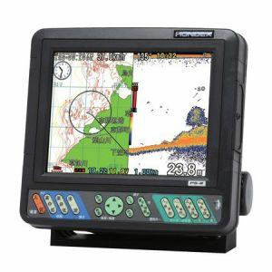 ホンデックス(HONDEX) 魚群探知機 魚群探知機 魚群探知機 PS-8 〈8.4型カラー液晶GPS内蔵プロッター魚探〉 734
