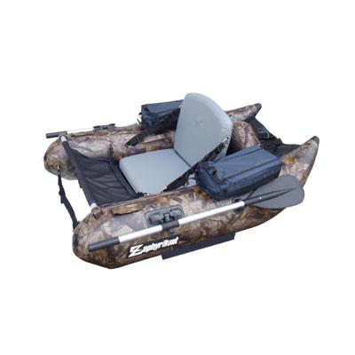 ゼファーボート(ZephyrBoat) フィッシングフローター ZF158VH-T ウッドカモ/カモフラージュ