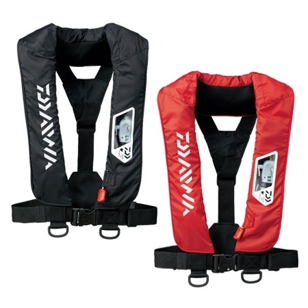 ダイワ(Daiwa) DF-2007 ウォッシャブルライフジャケット(肩掛 手動・自動膨張式)(お取り寄せ)