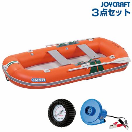 ジョイクラフト KE-275GS(電動ポンプ+プレッシャーゲージ) ゴムボート4人乗り 2019わくわくセット
