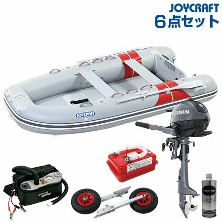 ジョイクラフト ゴムボート船外機セット JEX-315ワイドSSヤマハ2馬力船外機+船外機架台付き 2019わくわくセット