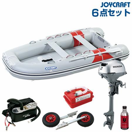 ジョイクラフト ゴムボート船外機セット JEX-315ワイドSSホンダ2馬力船外機 2019わくわくセット