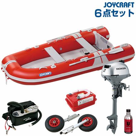 ジョイクラフト ゴムボート船外機セット グランド315SSホンダ2馬力船外機 2019わくわくセット