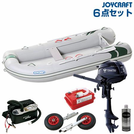 ジョイクラフト ゴムボート船外機セット J-キャット305SSトーハツ2馬力船外機 2019わくわくセット