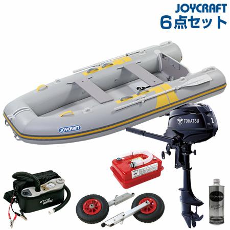 ジョイクラフト ゴムボート船外機セット キャロット303SSトーハツ2馬力船外機 2019わくわくセット
