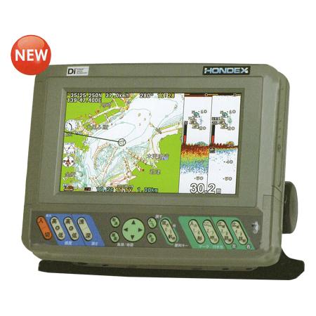 ホンデックス(HONDEX) 魚群探知機 PS-700GP-Di(s)〈カラー液晶GPSプロッター魚探〉