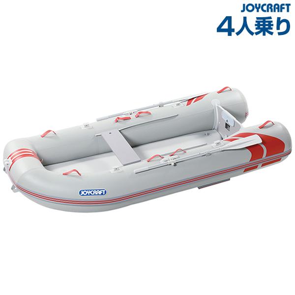 ゴムボート 4人乗り ジョイクラフト レッドキャップ300(超高圧電動ポンプ無)
