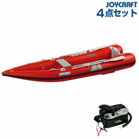 ジョイクラフト カヤック340HSセット (カヤック340+オール+腰掛板セット)