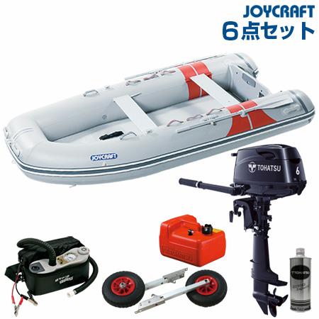 <title>6人乗りゴムボート 6馬力 新着 要免許必要 2月中旬~下旬頃入荷予定 ジョイクラフト ゴムボート船外機セット JEX-340SSトーハツ6馬力船外機 2020わくわくセット</title>