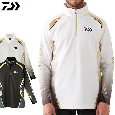 ダイワ シャツ ダイワ(DAIWA) DE-31009T トーナメントブレスマジックハーフジップシャツ ラージサイズ (お取り寄せ)