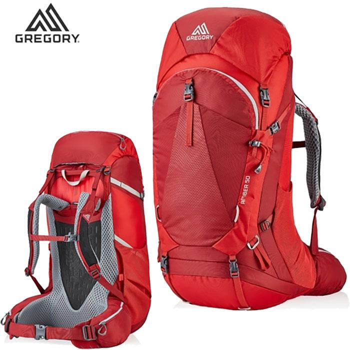 GREGORY グレゴリー アンバー 55 20SS 女性用 ザック 大型ザック バックパック 登山 縦走 旅行 :126869T430