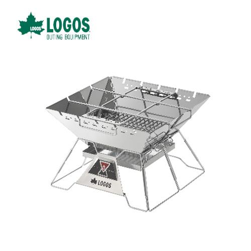 LOGOS ロゴス THE PYRAMID TAKIBI L ピラミッド 焚き火台 キャンプ ファミリー 焚火 81064162