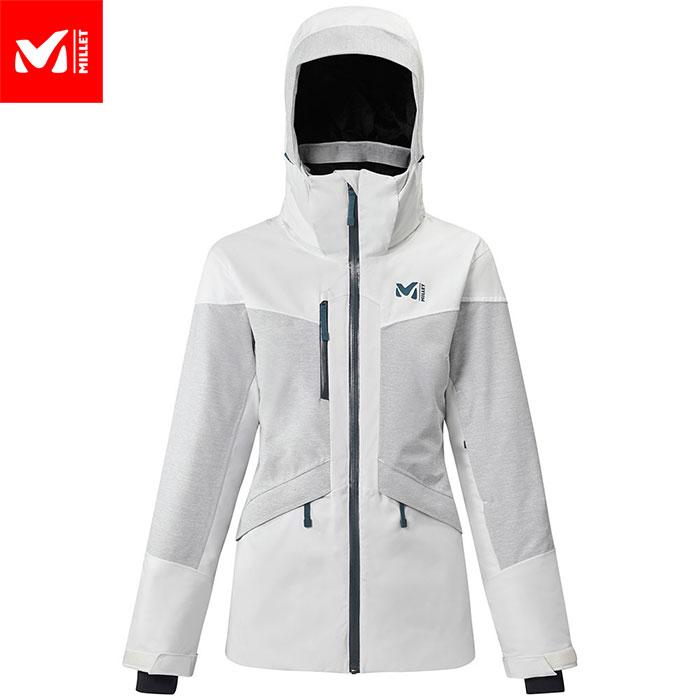 ポイント10倍!5/11 11:59までMILLET ミレー MOUNT TOD JKT W スキーウェア ジャケット レディース (MOONWHITE):MIV8540