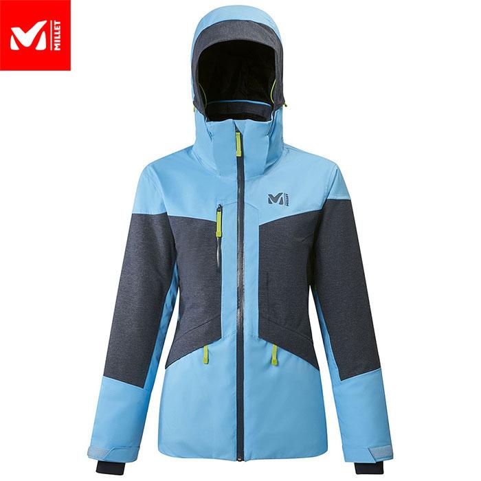 ポイント10倍!5/11 11:59までMILLET ミレー MOUNT TOD JKT W スキーウェア ジャケット レディース (LIGHTBLUEーORIONBLUE):MIV8540