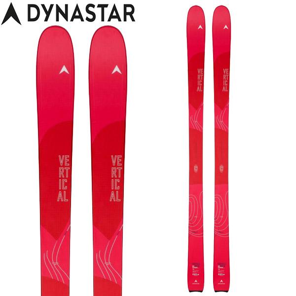 ポイント10倍!5/11 11:59までDYNASTAR ディナスター 19-20 スキー VERTICAL PRO W ヴァーティカル プロ W (板のみ) 2020 スキー板 ツーリング レディース:DAIM202