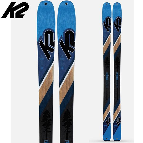 スーパーセール限定特価!K2 ケーツー 19-20 スキー Wayback 84 ウェイバック 84 (板のみ) 2020 スキー板 オールマウンテン ツアー : [34SSスキー]