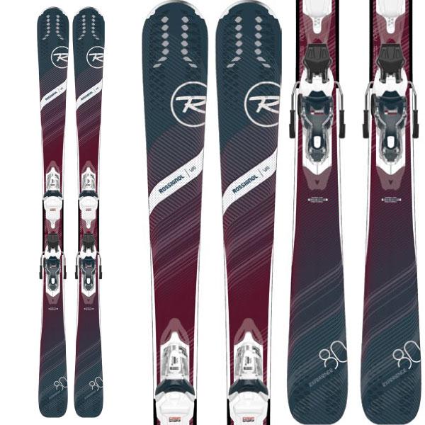 クーポン利用で10%OFF!ROSSIGNOL ロシニョール 19-20 スキー 2020 EXPERIENCE 80 CI W + (XPRESS W 11 金具付き) エクスペリエンス 80 CI W レディース スキー板 :RAIFH02