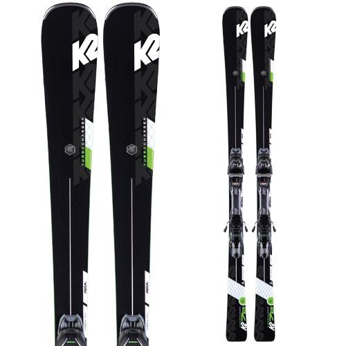 ポイント10倍!5/11 11:59までK2 ケーツー 19-20 スキー TURBO CHARGER ターボ チャージャー (金具付き) スキー板 2020 オールラウンド (onecolor):