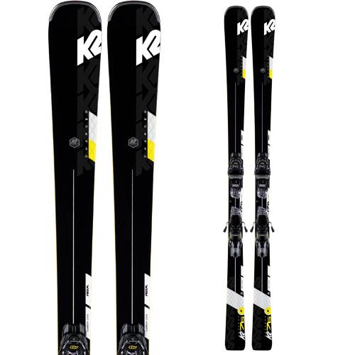 クーポン利用で10%OFF!K2 ケーツー 19-20 スキー CHARGER チャージャー (金具付き) スキー板 2020 オールラウンド (onecolor):