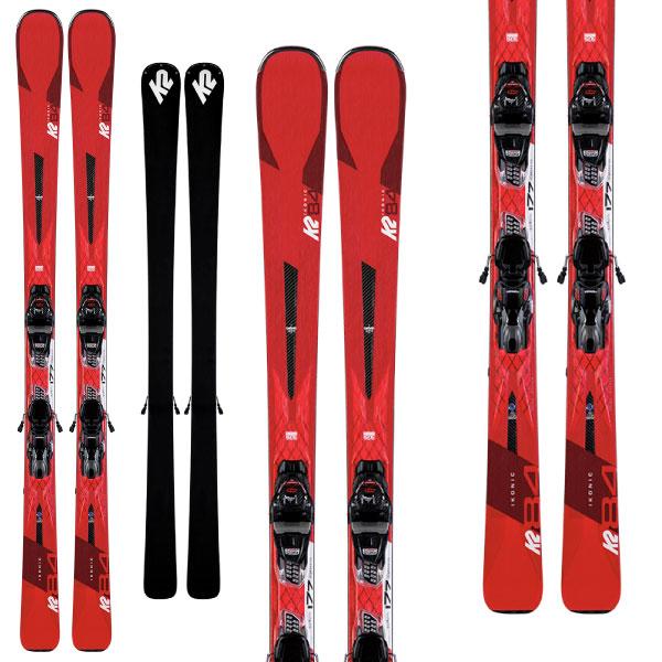 クーポン利用で10%OFF 8/26まで! K2 ケーツー 19-20 スキー IKONIC 84 アイコニック 84 (金具付き) スキー板 2020 オールマウンテン (onecolor):