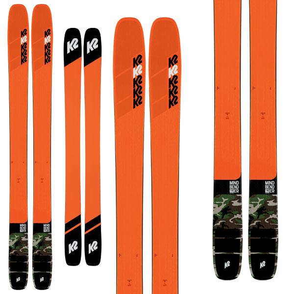 クーポン利用で10%OFF!K2 ケーツー 19-20 スキー MINDBENDER 116C マインドベンダー116C (板のみ) スキー板 2020 パウダー ロッカー (onecolor):