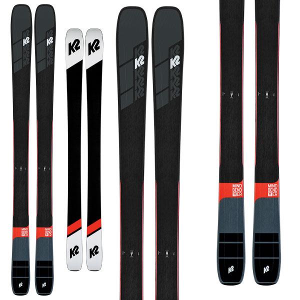 クーポン利用で10%OFF!K2 ケーツー 19-20 スキー MINDBENDER 99Ti マインドベンダー 99Ti (板のみ) スキー板 2020 パウダー ロッカー (onecolor):