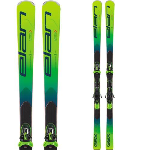 クーポン利用で10%OFF!ELAN エラン 19-20 スキー 2020 GSX Fusion X GSXフュージョンX (金具付き) GS レーシング スキー板 (onecolor):