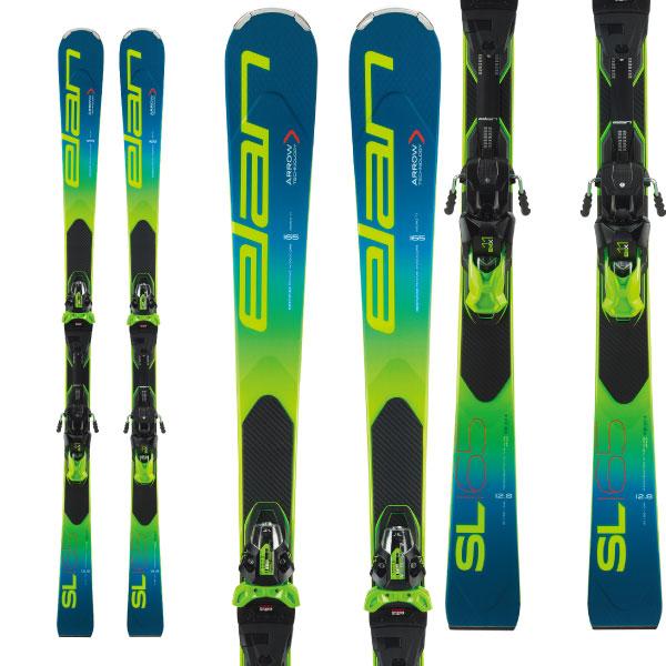 クーポン利用で10%OFF!ELAN エラン 19-20 スキー 2020 SL Fusion X SLフュージョンX (金具付き) SL レーシング スキー板 (onecolor):