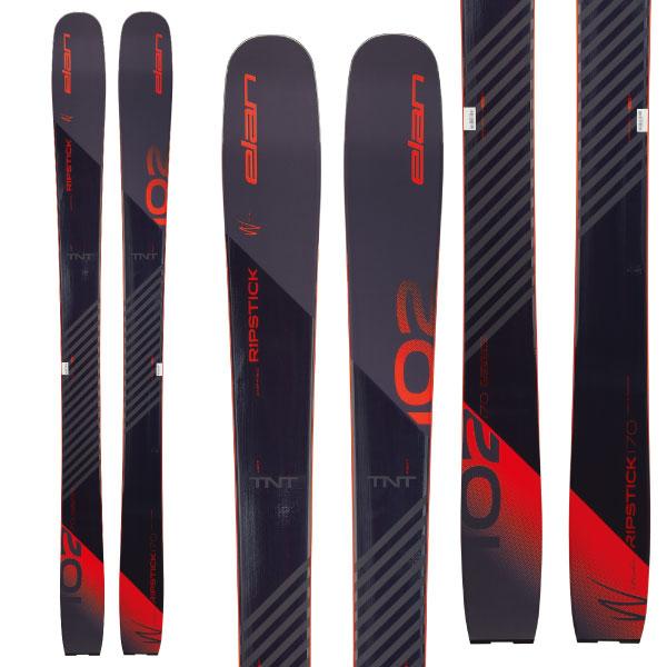 クーポン利用で10%OFF!ELAN エラン 19-20 スキー 2020 RIPSTICK 102W リップスティック 102W (板のみ) パウダー スキー板 レディース (onecolor):