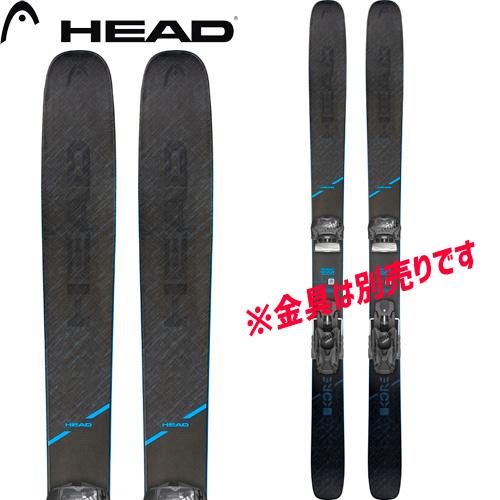 ポイント10倍!5/11 11:59までHEAD ヘッド 19-20 スキー 2020 KORE 117 コア 117(板のみ) パウダー スキー板 (onecolor):315409