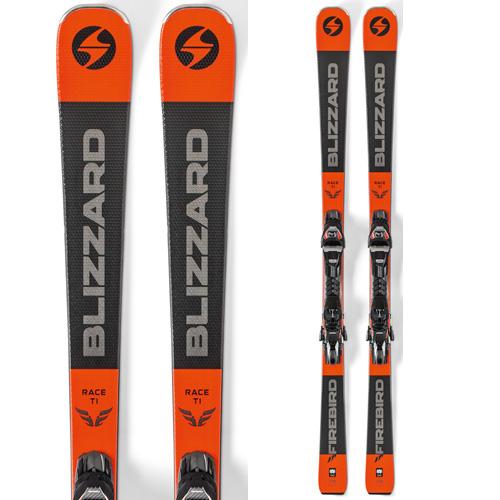 スーパーセール限定特価!BLIZZARD ブリザード 19-20 スキー 2020 FIREBIRD RACE Ti ファイアーバード レース Ti (金具付き) スキー板 オールラウンド: [34SSスキー]