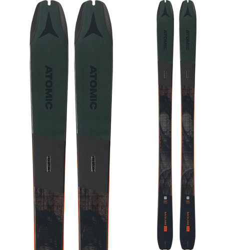 ポイント10倍!5/11 11:59までATOMIC アトミック 19-20 スキー 2020 BACKLAND 95 バックランド 95 (板のみ) スキー板 オールマウンテン (onecolor):