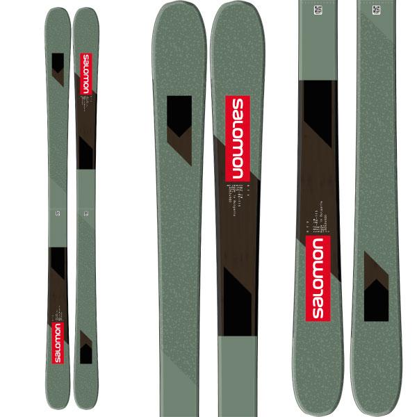 クーポン利用で10%OFF!SALOMON サロモン 19-20 スキー 2020 NFX (板のみ) スキー板 フリースタイル (onecolor):