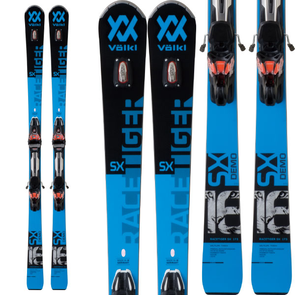 ポイント10倍!5/11 11:59までVOLKL フォルクル 19-20 スキー 2020 RACETIGER レースタイガー SX DEMO (金具付き) スキー板 デモ オールラウンド (onecolor):