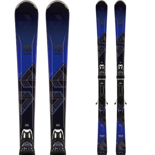 クーポン利用で10%OFF!VOLKL フォルクル 19-20 スキー 2020 FLAIR 76 ELITE (金具付き) スキー板 オールマウンテン (onecolor):