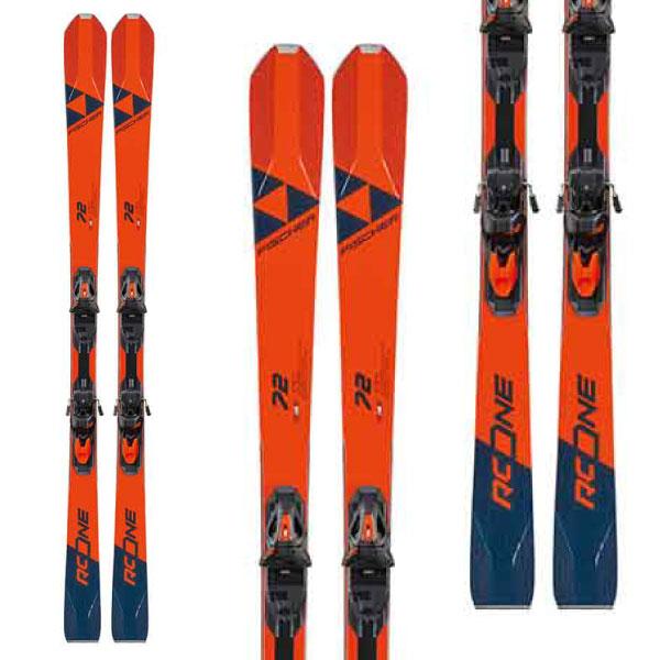 クーポン利用で10%OFF!FISCHER フィッシャー 19-20 スキー 2020 RC ONE 72 MULTIFLEX (金具付き) スキー板 デモ オールラウンド: