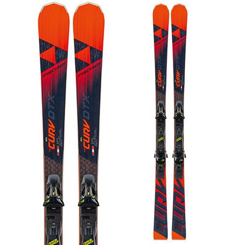 ポイント10倍!5/11 11:59までFISCHER フィッシャー 19-20 スキー 2020 RC4 THE CURV DTX RACETRACK (金具付き) スキー板 デモ オールラウンド: