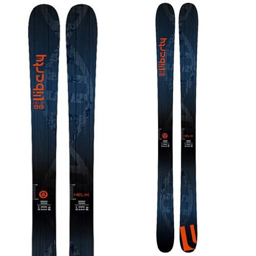 ポイント10倍!5/11 11:59までLibarty リバティ 19-20 スキー 2020 HELIX 98 ヒリックス 98 (板のみ) スキー板 パウダー ロッカー: