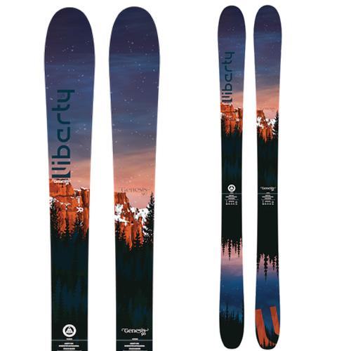 クーポン利用で10%OFF!Libarty リバティ 19-20 スキー 2020 GENESIS 90 ジェネシス 90 (板のみ) スキー板 オールマウンテン:
