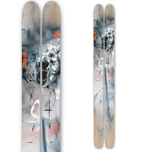 クーポン利用で10%OFF!4FRNT フォーフロント 19-20 スキー 2020 HOJI ホジ (板のみ) スキー板 パウダー ロッカー: