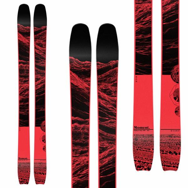 クーポン利用で10%OFF!MOMENT モーメント 19-20 スキー 2020 WILDCAT TOUR 108 ワイルドキャットツアー 108 (板のみ) スキー板 パウダー ロッカー: