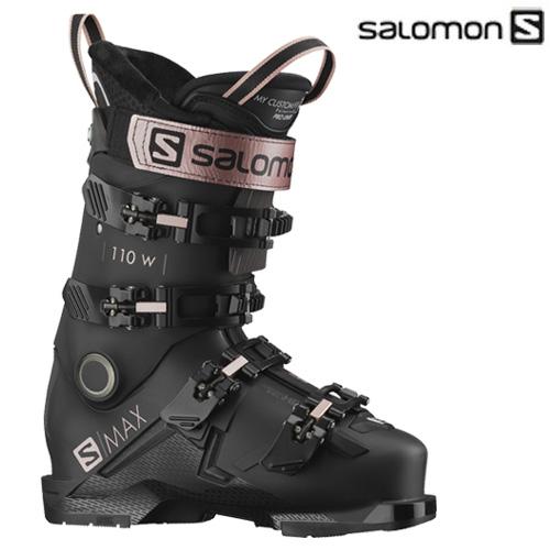 【NEWモデル早期予約】スキー ブーツ 靴 基礎 グリップウォーク 女性 SALOMON サロモン 21-22 S/MAX 110 W GW エスマックス110 レディース